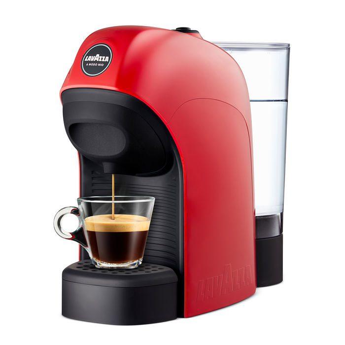 MACCHINA DA CAFFE' A CAPSULE LAVAZZA A MODO MIO – TINY red
