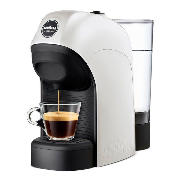 MACCHINA DA CAFFE' A CAPSULE LAVAZZA A MODO MIO – TINY white