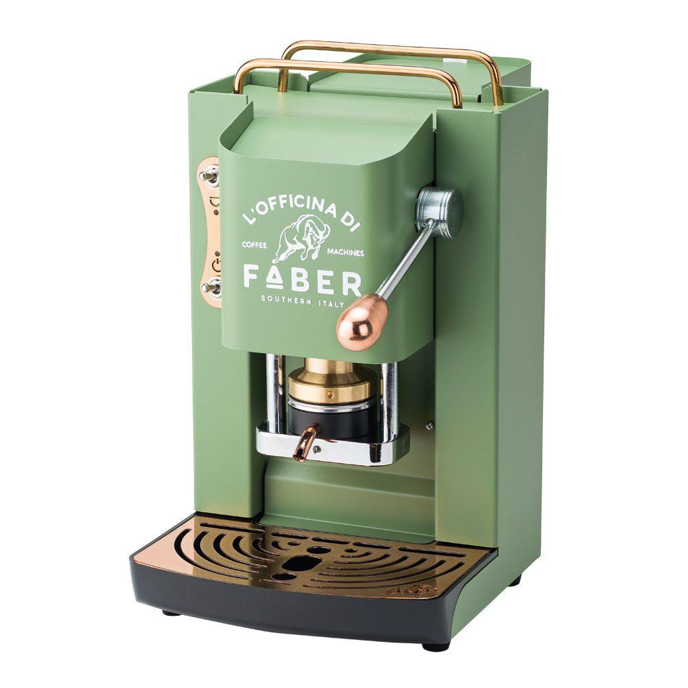 MACCHINA DA CAFFE' PER CIALDE COMPOSTABILI – FABER PRO DELUXE GREEN