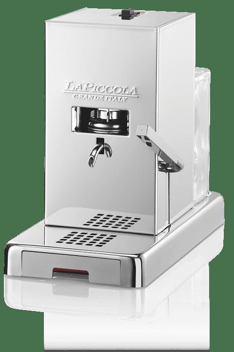 MACCHINA DA CAFFE' A CIALDE – LA PICCOLA / DOPPIA LUCIDATURA