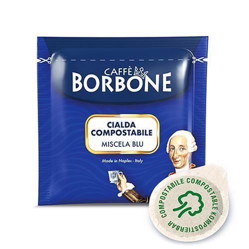 BORBONE CIALDA FILTROCARTA 44MM ESE CAFFÈ MISCELA BLU
